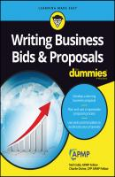 writing a business proposal for dummies