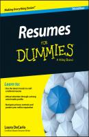 Resumes For Dummies - Laura  DeCarlo