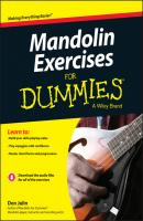 Mandolin Exercises For Dummies - Don  Julin