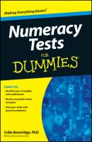 Numeracy Tests For Dummies - Colin  Beveridge