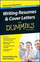 Writing Resumes and Cover Letters For Dummies - Australia / NZ - Amanda  McCarthy