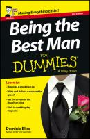 Being the Best Man For Dummies - UK - Dominic  Bliss
