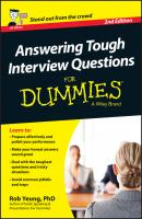 Answering Tough Interview Questions For Dummies - UK - Rob  Yeung