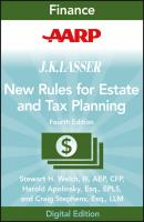 AARP JK Lasser's New Rules for Estate and Tax Planning - Stewart Welch H.