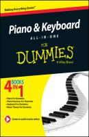 Piano and Keyboard All-in-One For Dummies - Michael  Pilhofer