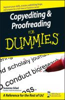 Copyediting and Proofreading For Dummies - Suzanne  Gilad