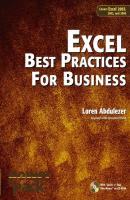 Excel Best Practices for Business. Covers Excel 2003, 2002, and 2000 - Loren  Abdulezer