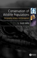 Conservation of Wildlife Populations. Demography, Genetics and Management - L. Mills Scott