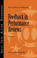 Feedback in Performance Reviews - E. Hart Wayne