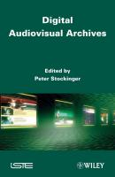 Digital Audiovisual Archives - Peter  Stockinger