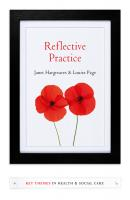 Reflective Practice - Hargreaves Janet