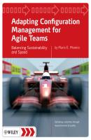 Adapting Configuration Management for Agile Teams. Balancing Sustainability and Speed - Mario Moreira E.