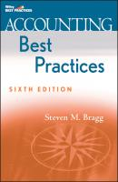 Accounting Best Practices - Steven Bragg M.