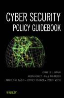 Cyber Security Policy Guidebook - Jason  Healey