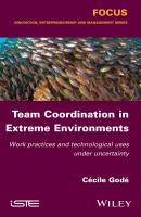 Team Coordination in Extreme Environments. Work Practices and Technological Uses under Uncertainty - Cécile Godé