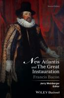 New Atlantis and The Great Instauration - Francis Bacon