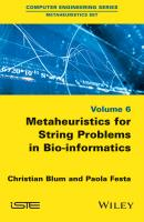Metaheuristics for String Problems in Bio-informatics - Christian  Blum