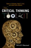 The Critical Thinking Toolkit - Peter Fosl S.