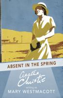 Absent in the Spring - Агата Кристи
