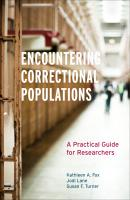 Encountering Correctional Populations - Kathleen A. Fox