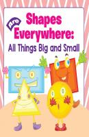 Shapes Are Everywhere: All Things Big and Small - Baby Professor Baby & Toddler Size & Shape Books