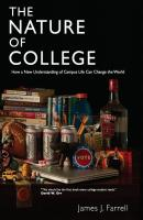The Nature of College - James J. Farrell