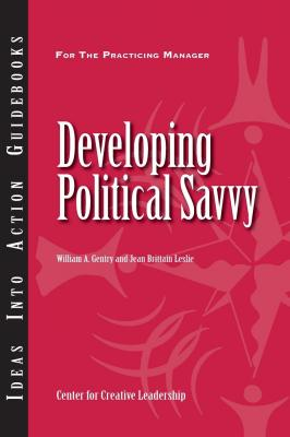 Developing Political Savvy - Jean Brittain Leslie